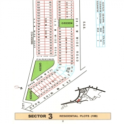 dwarka plot map sector-3